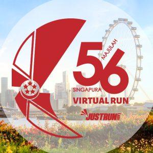 [Virtual] – Majulah SG56 Virtual Run 2021