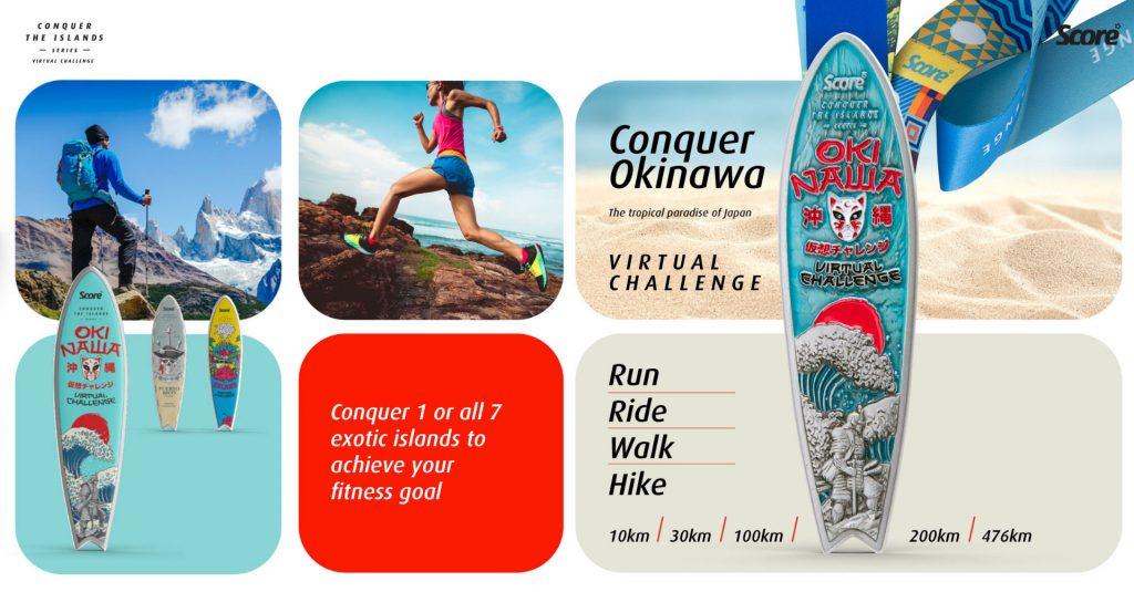 [Virtual] – Conquer Okinawa Virtual Challenge – Run / Ride / Walk / Hike