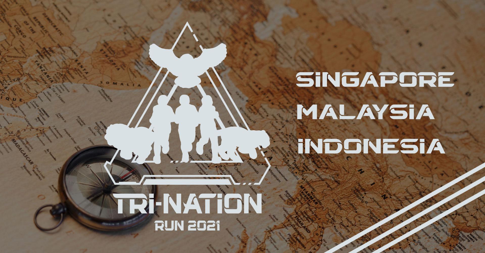 Logo of TRI-Nation Run 2021