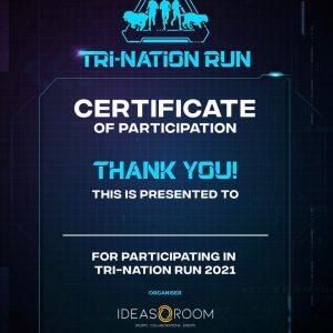 [Virtual] – TRI-Nation Run 2021
