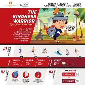 [Virtual] – The Kindness Warrior Fights Mental Health Stigma