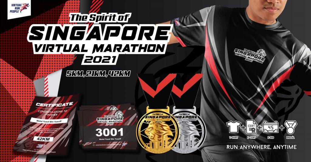 [Virtual] – The Spirit of Singapore Virtual Marathon 2021