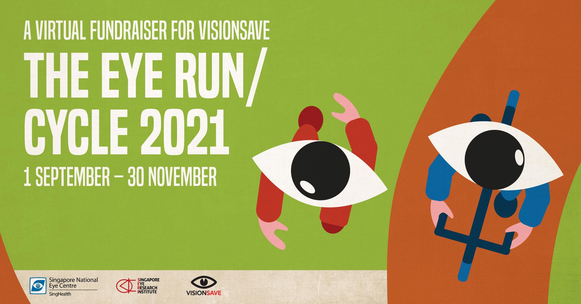 Logo of The Eye Run / Cycle 2021