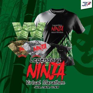 [Virtual] – Legendary Ninja Virtual Marathon
