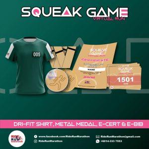 [Virtual] – Squeak Game Virtual Run 2021