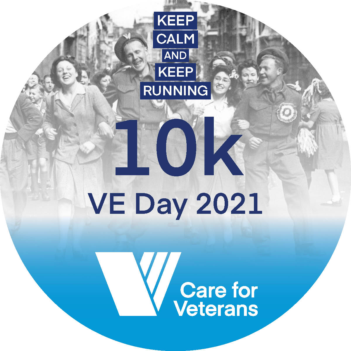 Logo of Race 10k this VE Day 2021