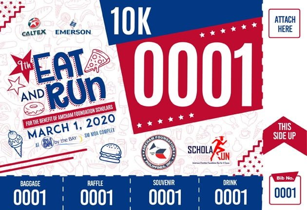 9th Amcham Schola Run – Eat And Run 2020