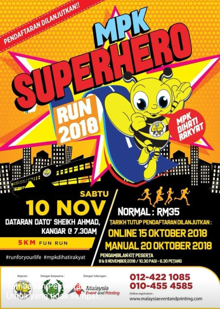 MPK Superhero Run 2018