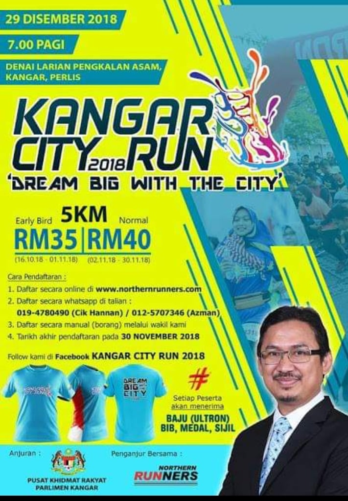 Kangar City Run 2018