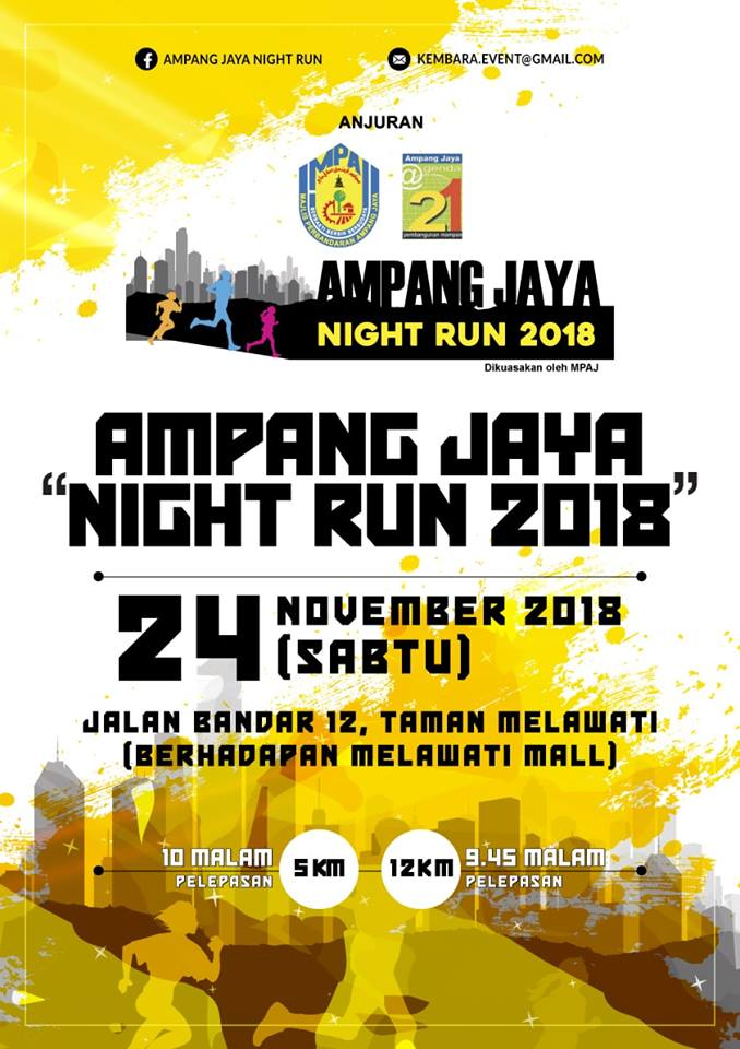 Ampang Jaya Night Run 2018