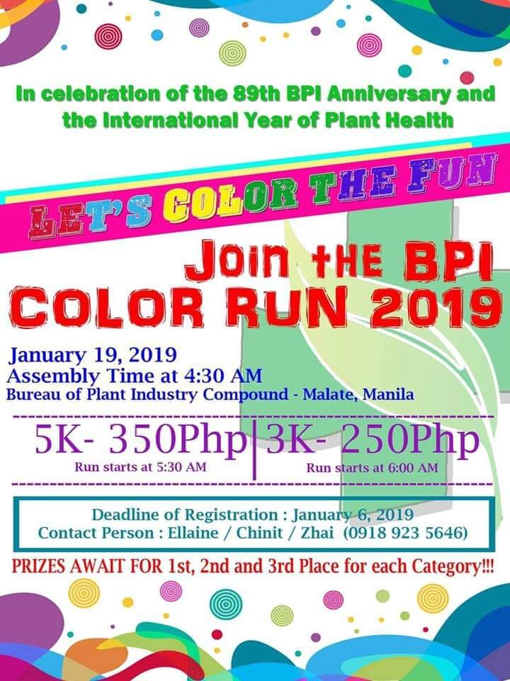 BPI Color Run 2019