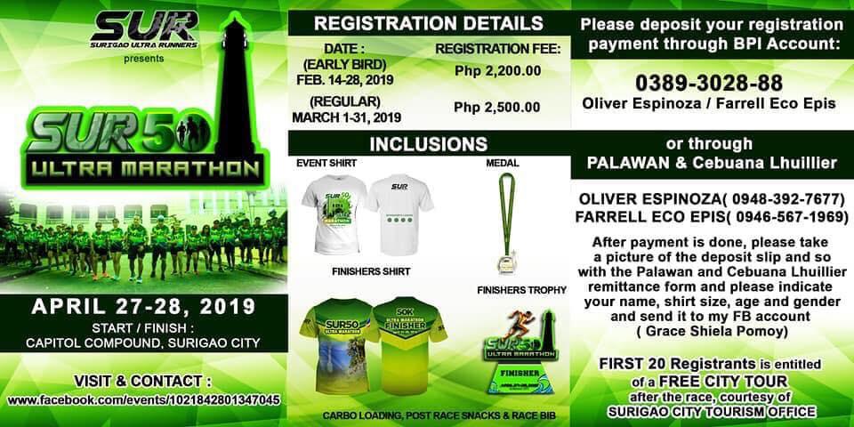 SUR50 Ultra Marathon 2019