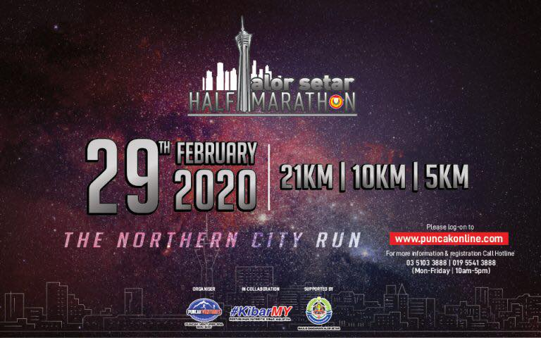 Alor Setar Half Marathon 2020