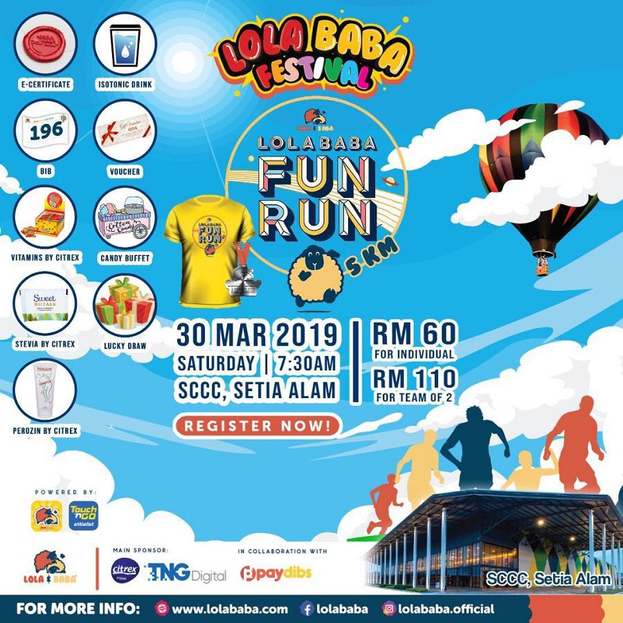 Lola Baba Fun Run 2019