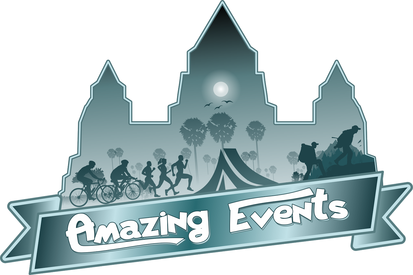 Logo of Angkor Wat Virtual Charity Run 2020