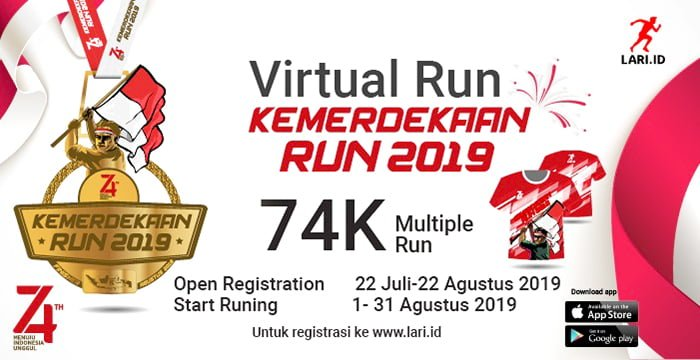 Logo of Kemerdekaan Run Indonesia 2019