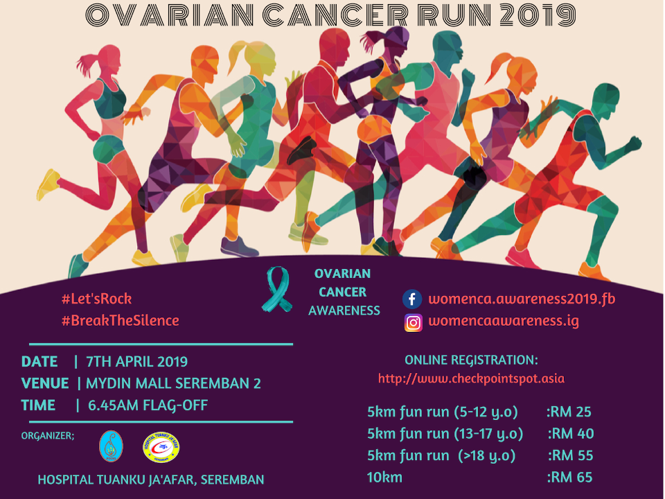 Ovarian Cancer Awareness Run 2019