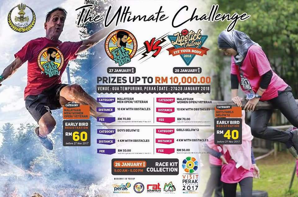 Lipstick vs Pomade Challenge Run 2018