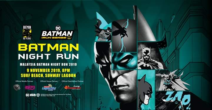 Batman 80th Anniversary Night Run 2019