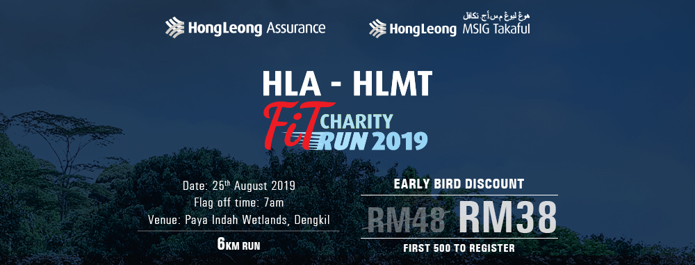 HLA-HLMT FiT Charity Run 2019