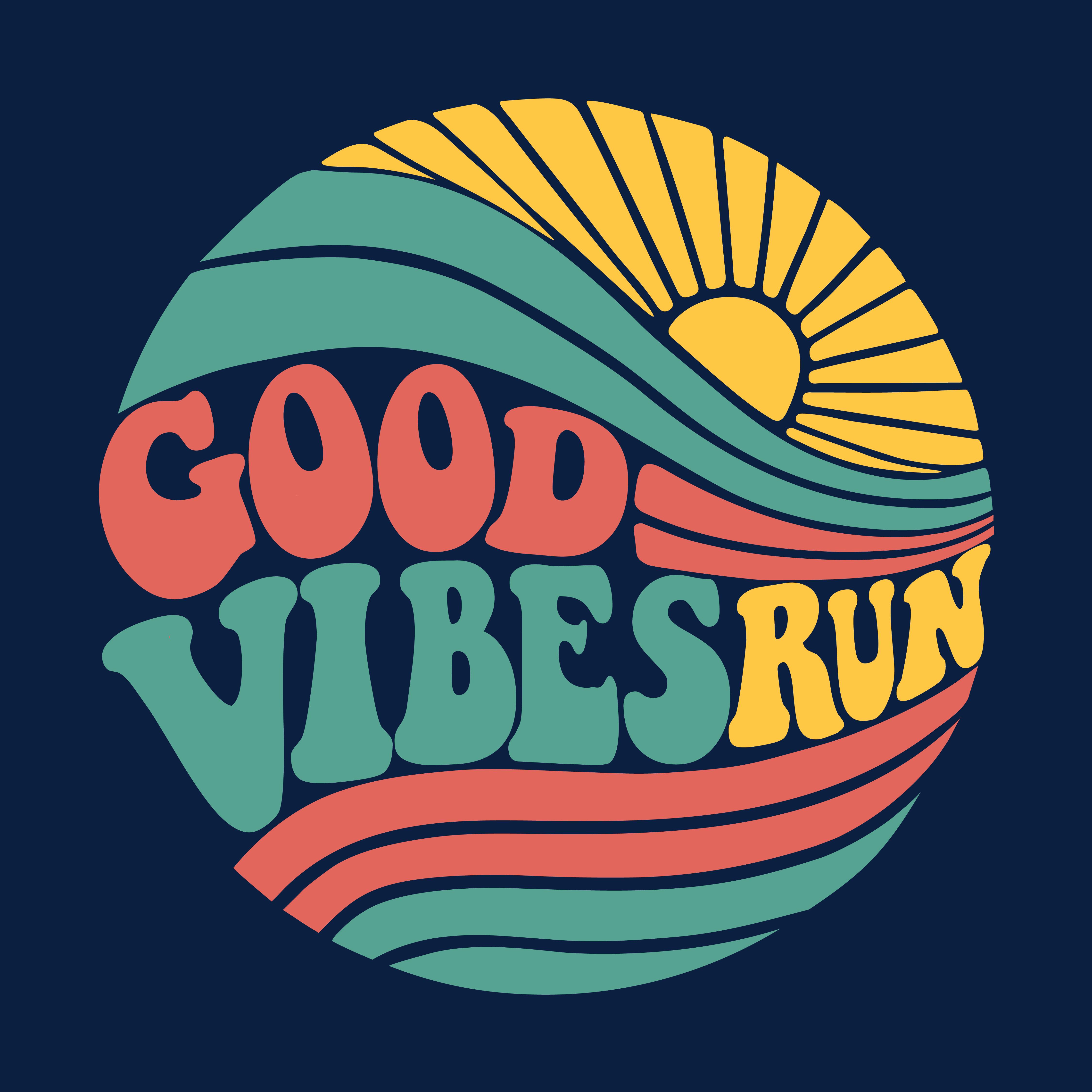 Logo of Good Vibes Run 2021