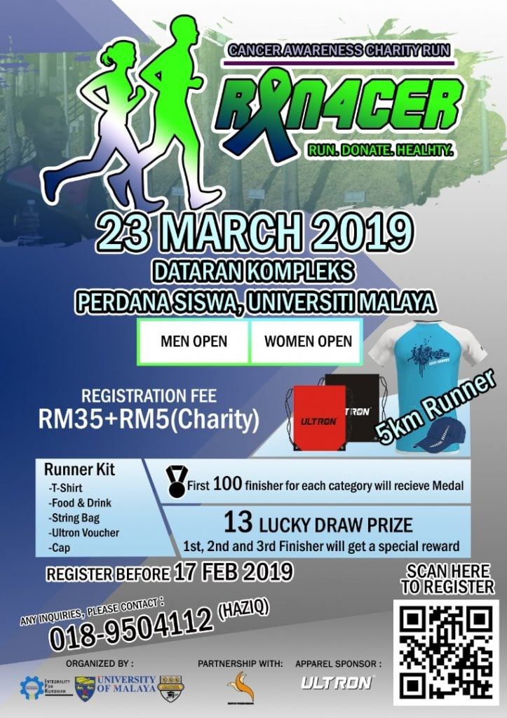 Cancer Awareness Charity Run 2019