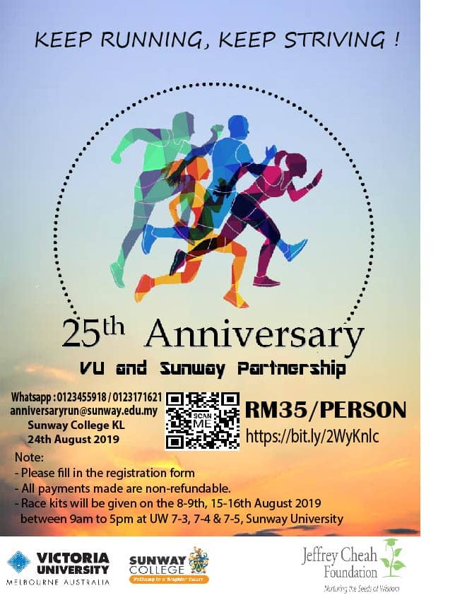 25th Anniversary VU And Sunway Partnership 2019