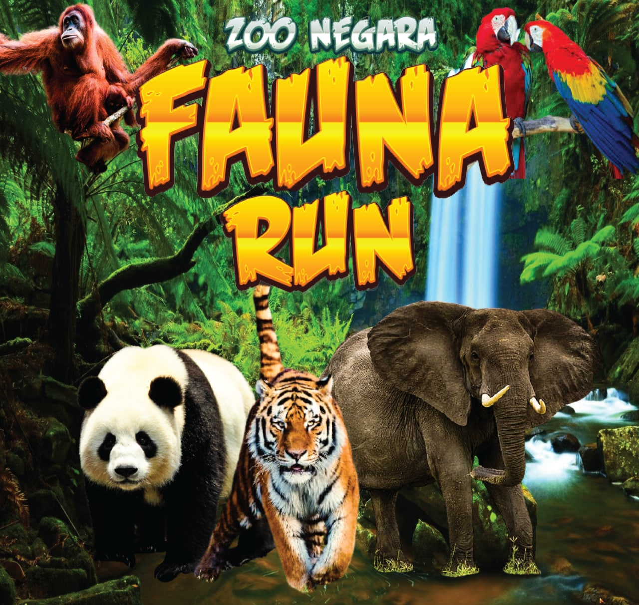 Logo of Fauna Run Zoo Negara 2021