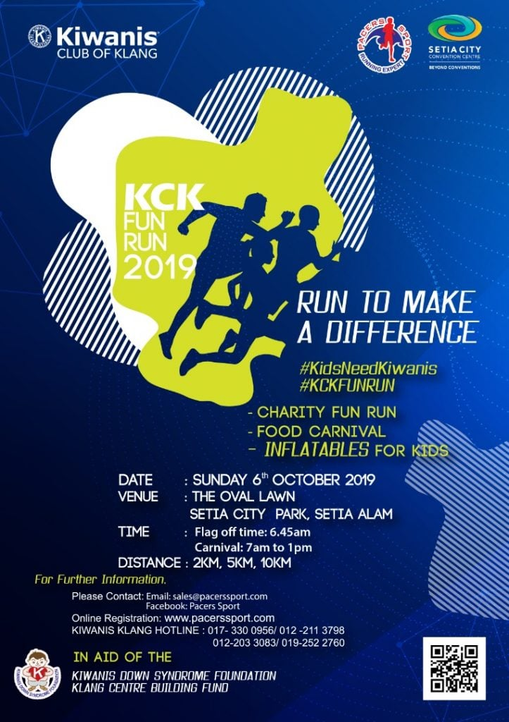 Kiwanis Club of Klang Charity Fun Run 2019