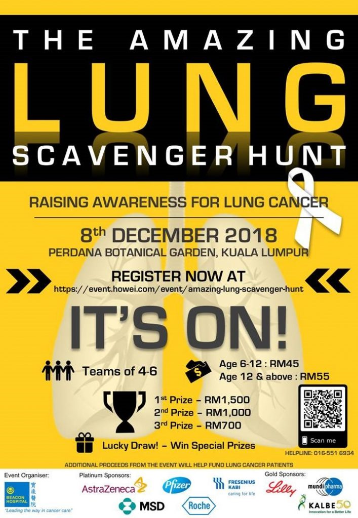 The Amazing Lung Scavenger Hunt 2018