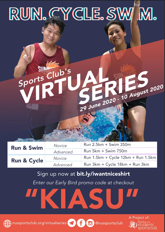 Logo of NUS Sports Club's Virtual Series 2020