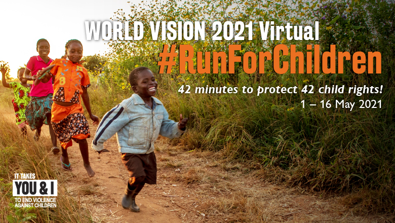Logo of Run in Malaysia, Change Lives Around the World 2021