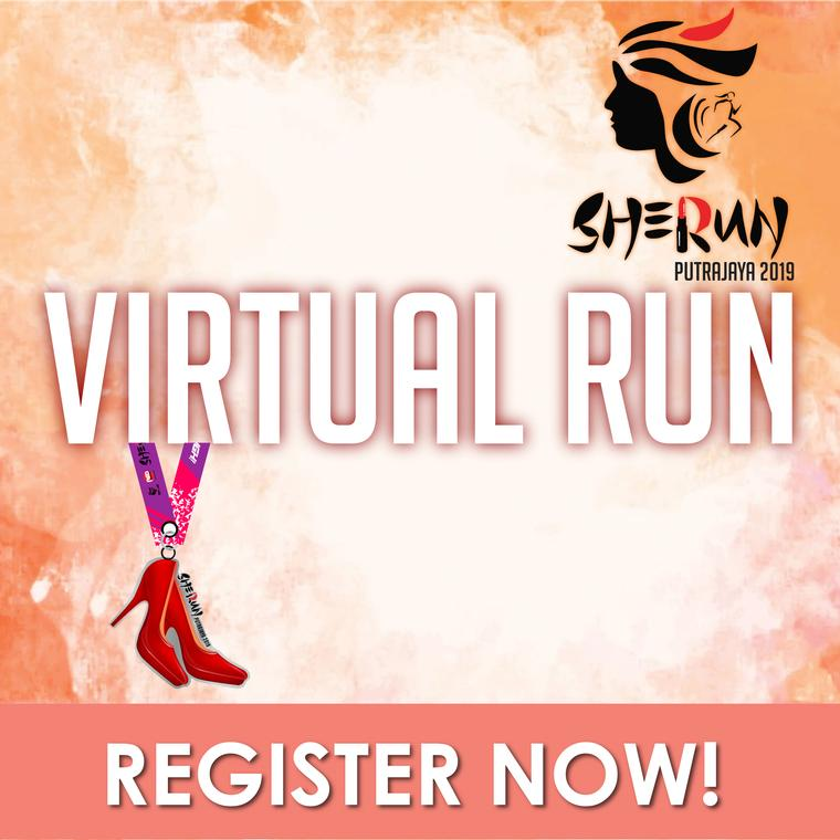 Logo of SHERUN Putrajaya Virtual Run 2019