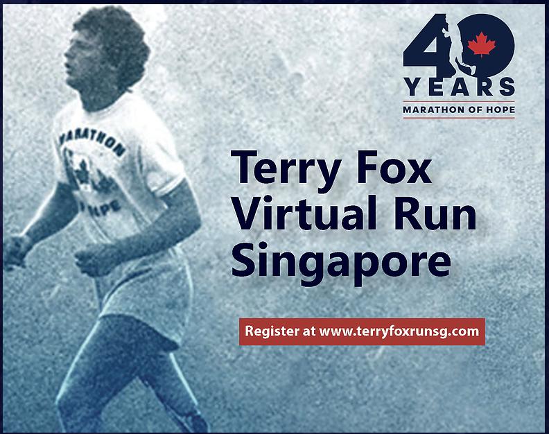 Logo of Terry Fox Run 2020