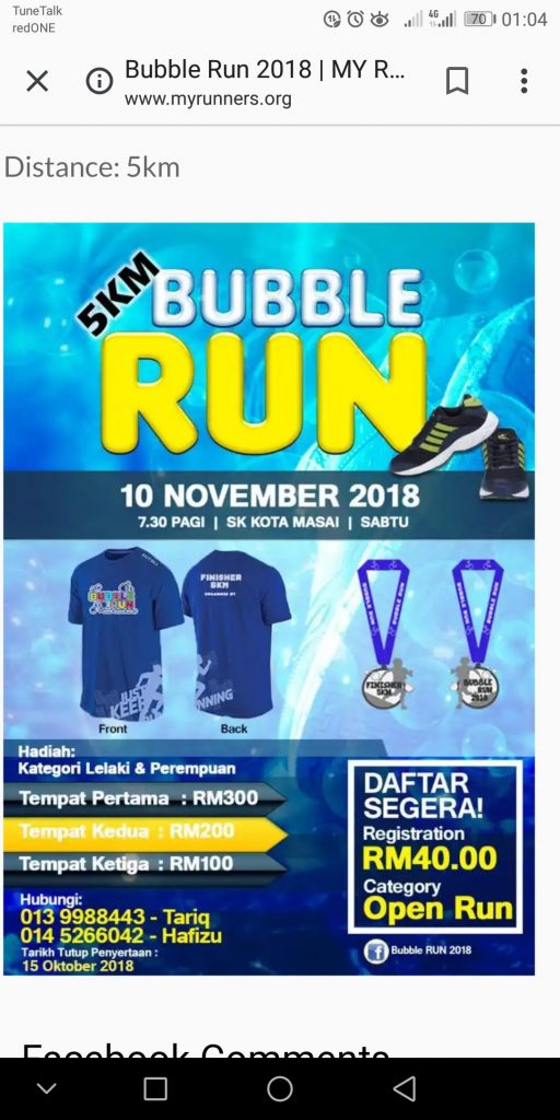 Bubble Run 2018