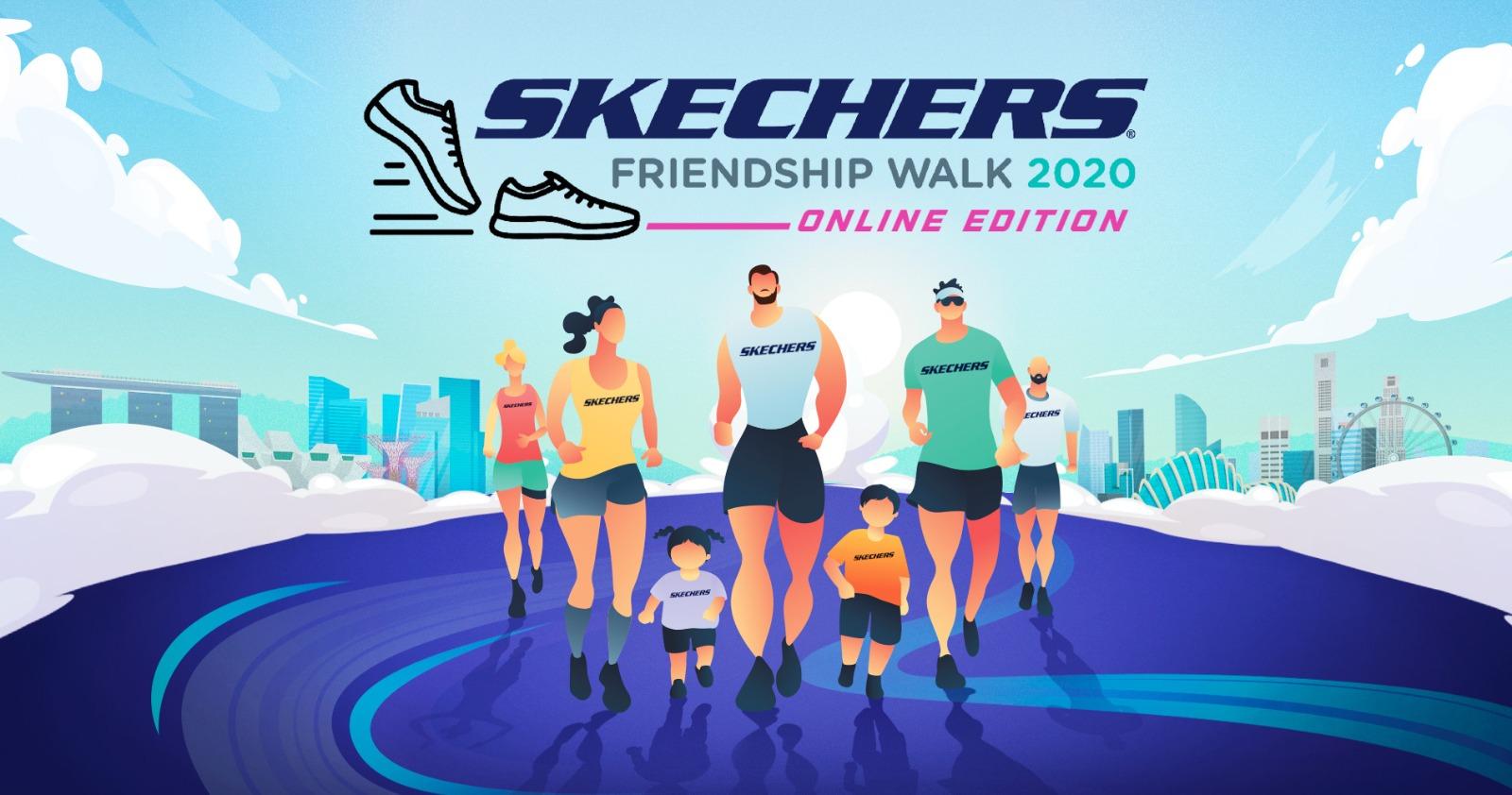 Logo of Skechers Friendship Walk 2020 Online Edition