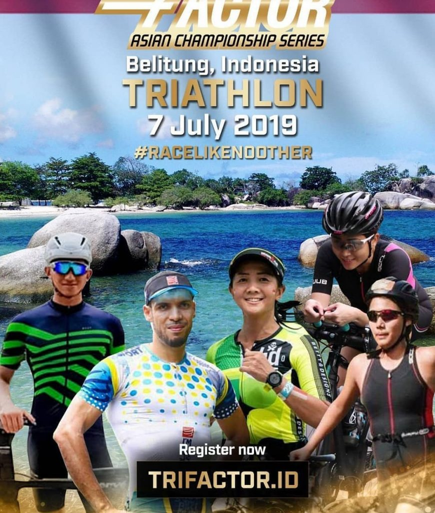 Trifactor Belitung Triathlon 2019 Indonesia