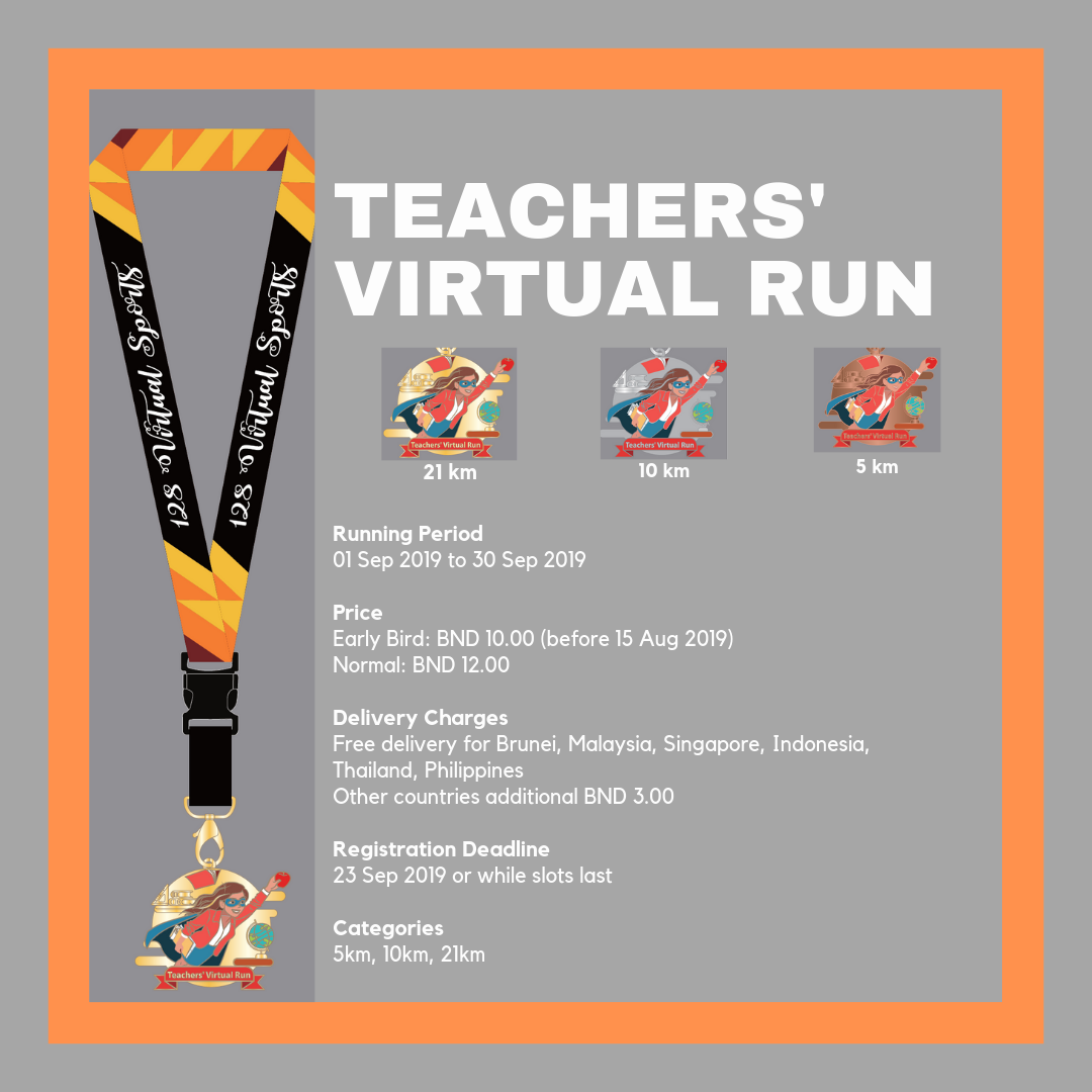 Logo of Teachers' Virtual Run 2019