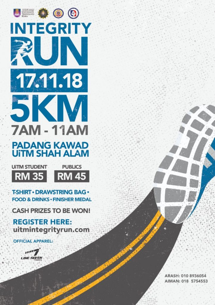 UiTM Integrity Run 2018