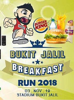 Bukit Jalil Breakfast Run 2018