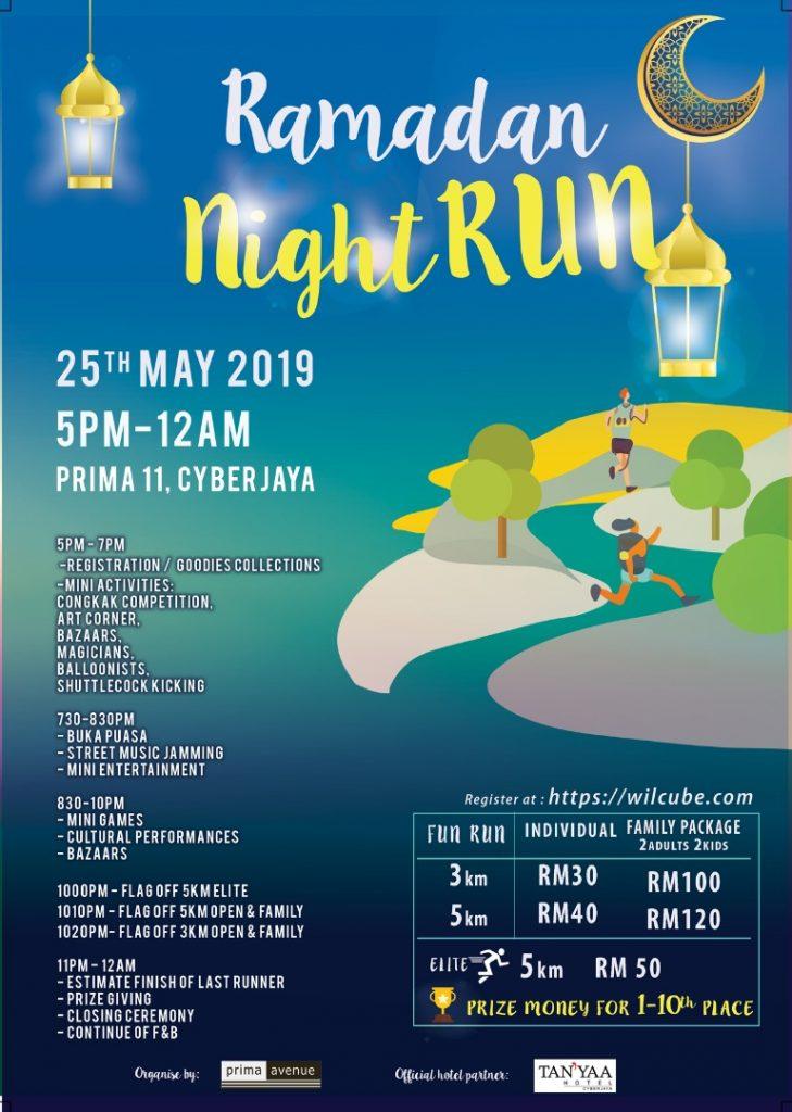 Prima Avenue Ramadan Night Run 2019