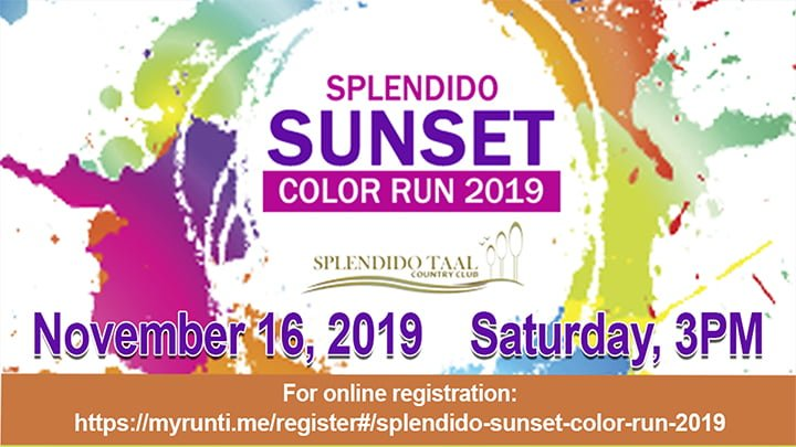 Splendido Sunset Color Run 2019