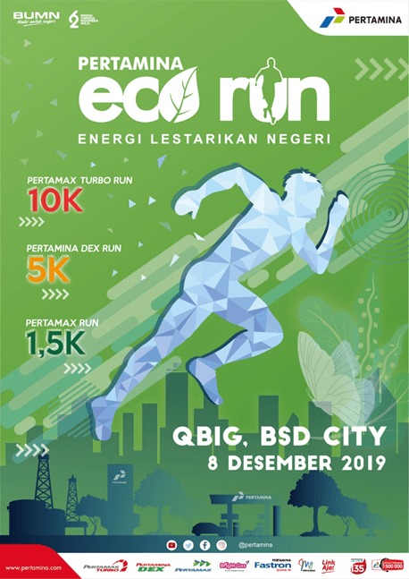 Pertamina Eco Run 2019