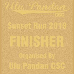 Ulu Pandan Sunset Run 2019