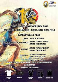 UniKL MITEC Anniversary Run 2018