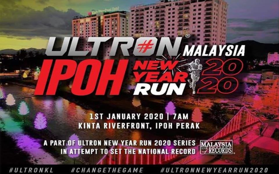 Ultron Ipoh New Year Run 2020