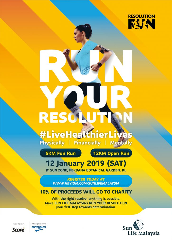 Sun Life Malaysia Resolution Run 2019