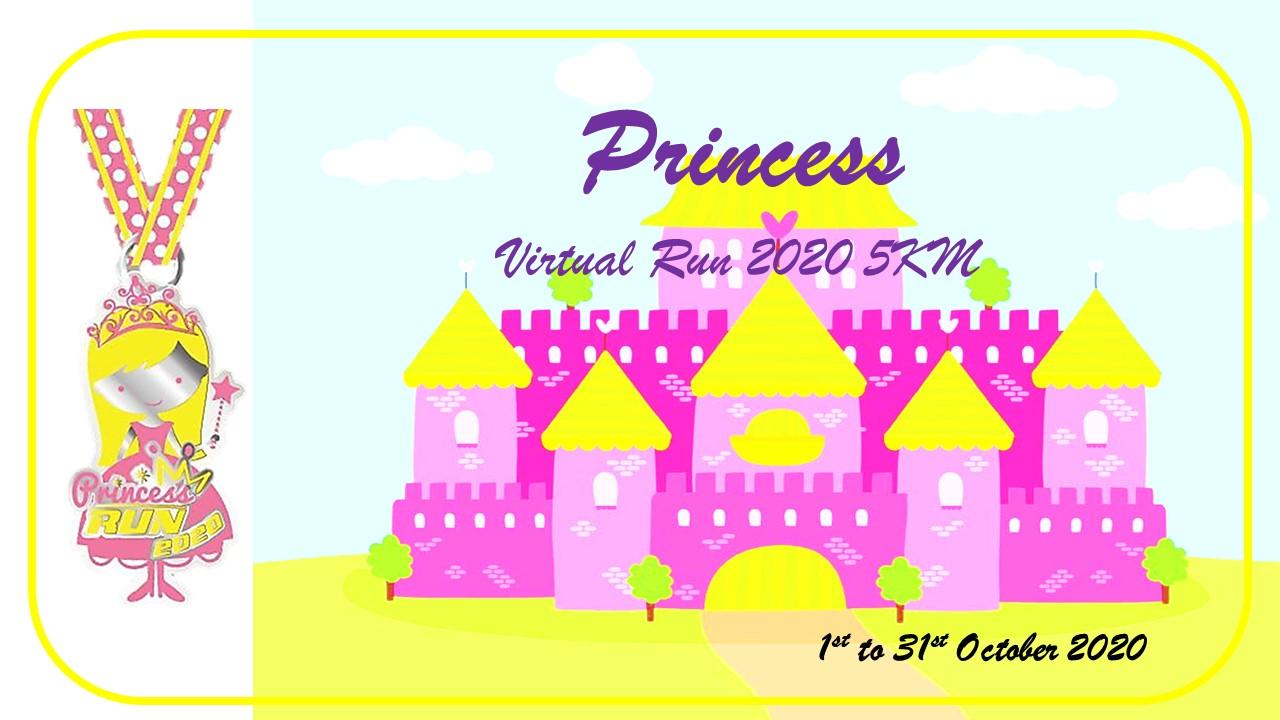 Logo of Princess Virtual Run 2020