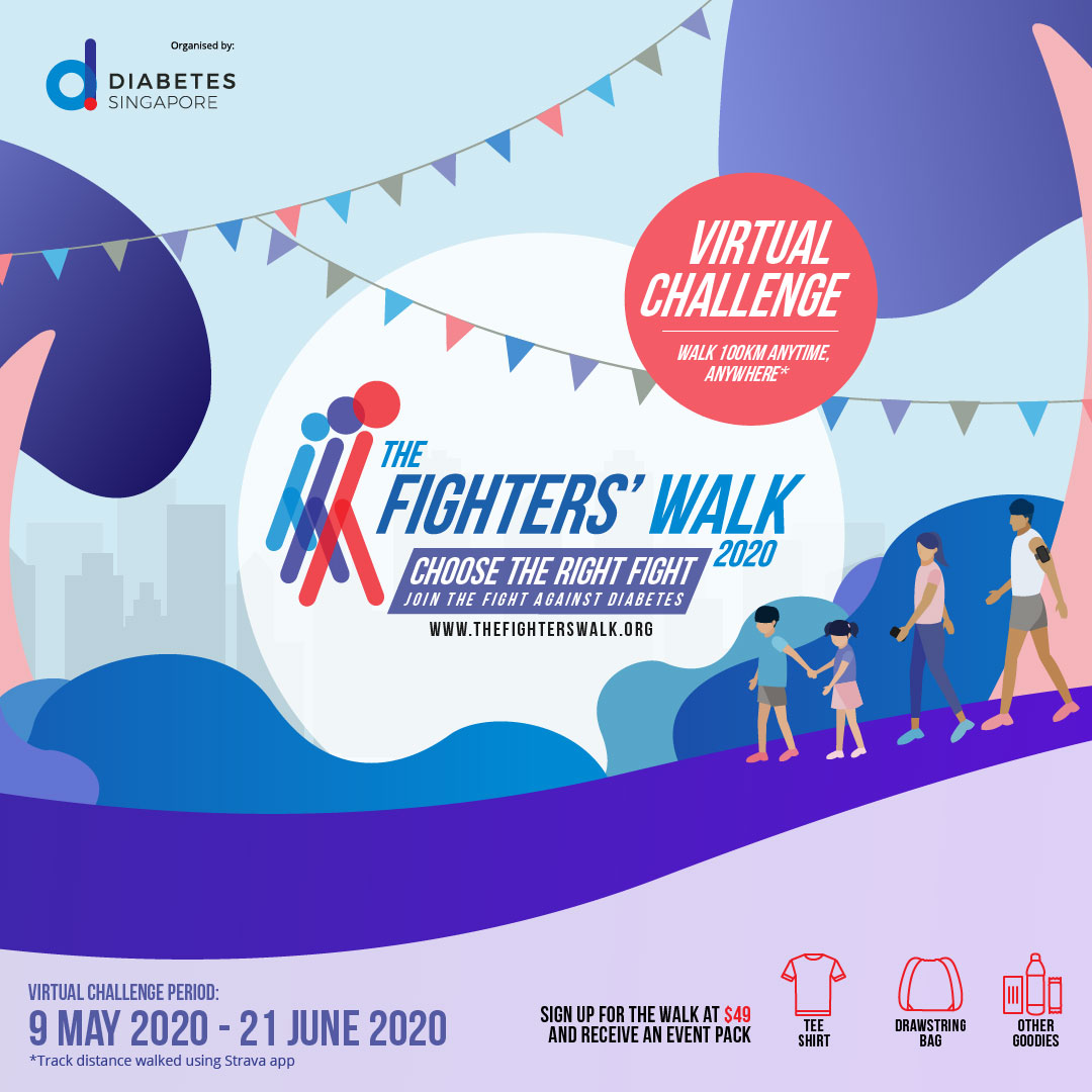 Logo of The Fighters' Walk 2020