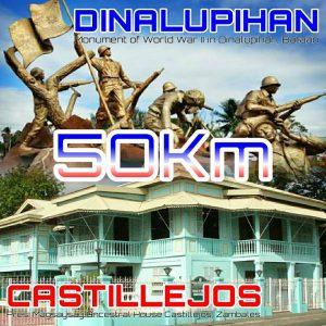 Dinalupihan to Castillejos 50km 2018